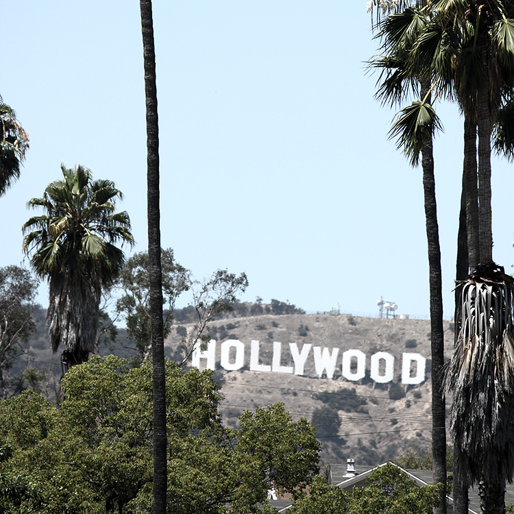 Hollywood, Los Angeles, Californien, USA.